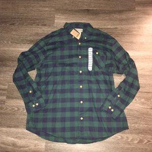 NWT Iron Mountain Oxford Plaid Shirt